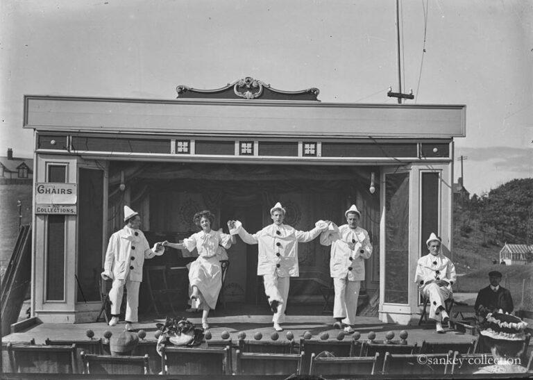 Walney Mascots, Barrow circa 1910 - copyright Sankey Collection